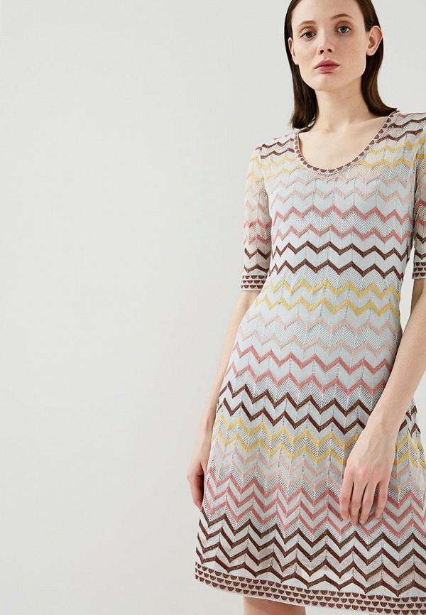 Платье M Missoni M Missoni MM151EWAARO3 платье m missoni m missoni mm151ewoge63