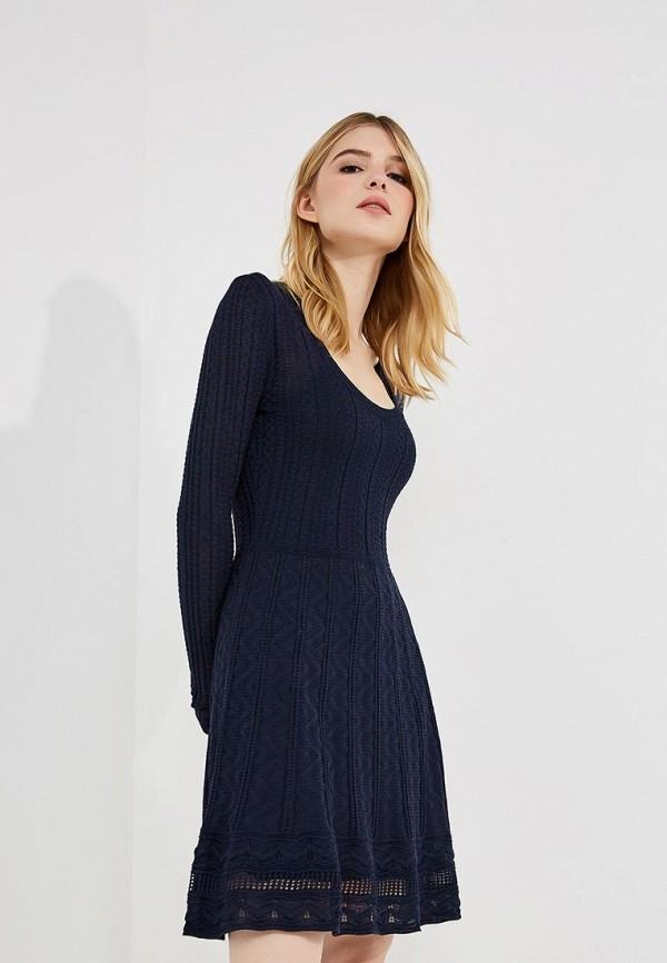 женское повседневные платье m missoni, синее