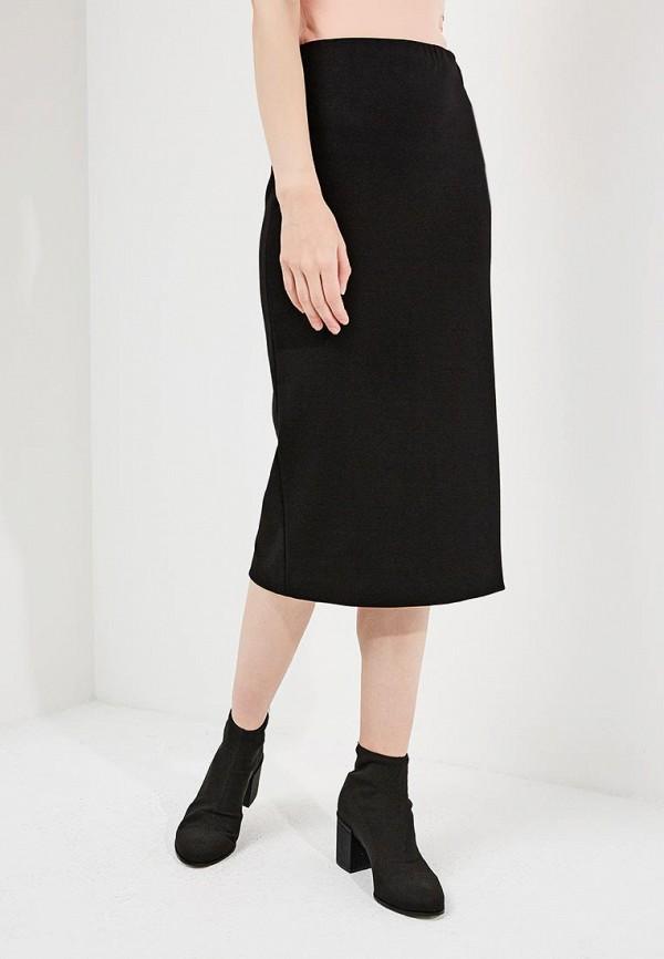 женская зауженные юбка m missoni, черная