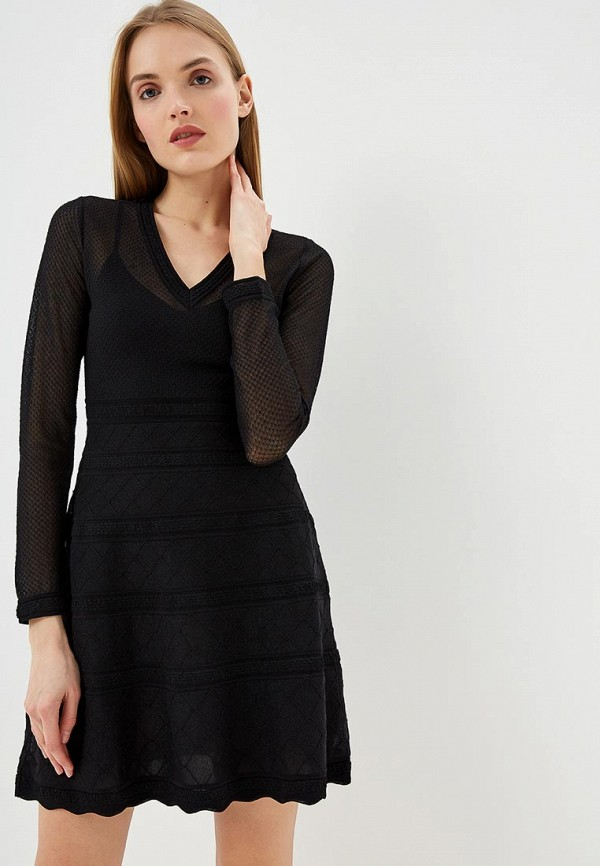 женское повседневные платье m missoni, черное
