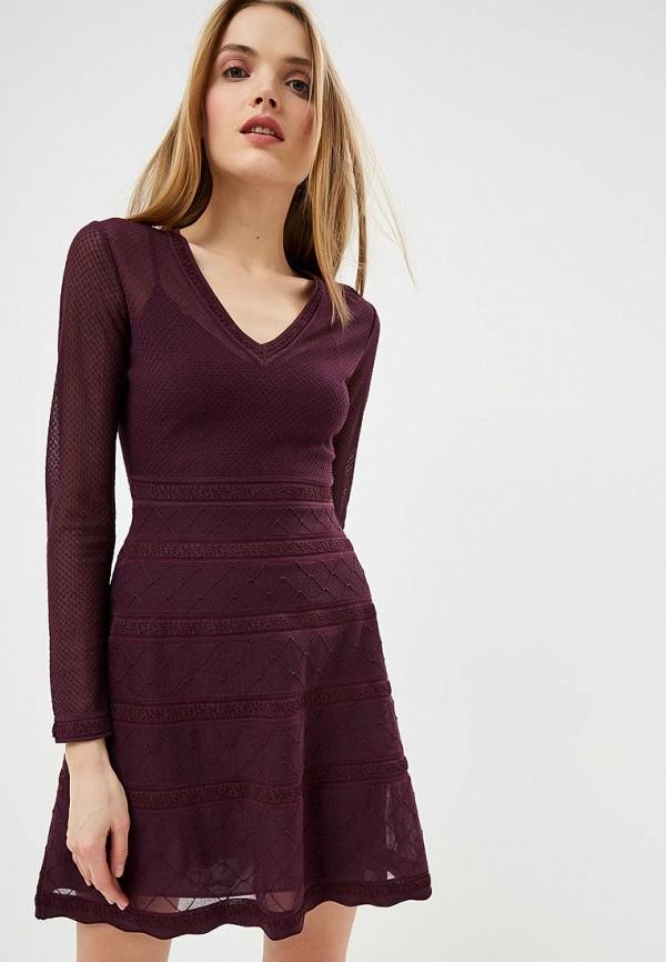 женское повседневные платье m missoni, фиолетовое