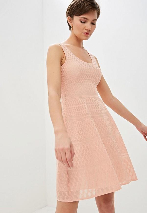 женское повседневные платье m missoni, розовое