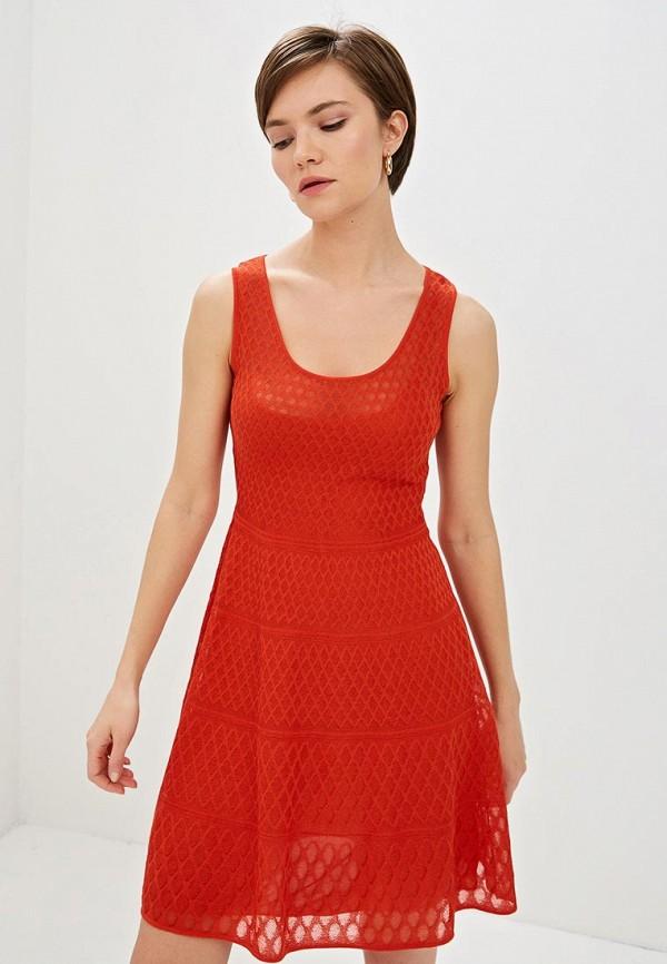 женское повседневные платье m missoni, красное