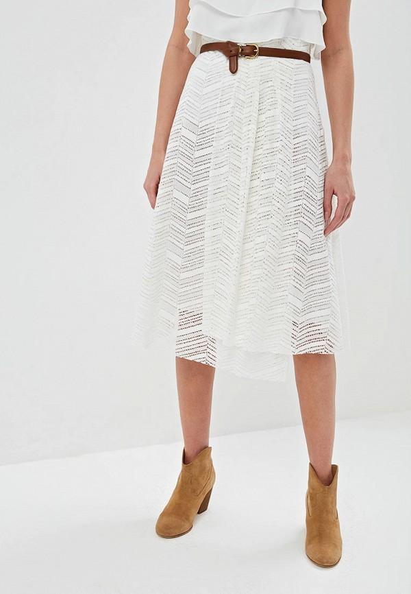 женская юбка m missoni, белая