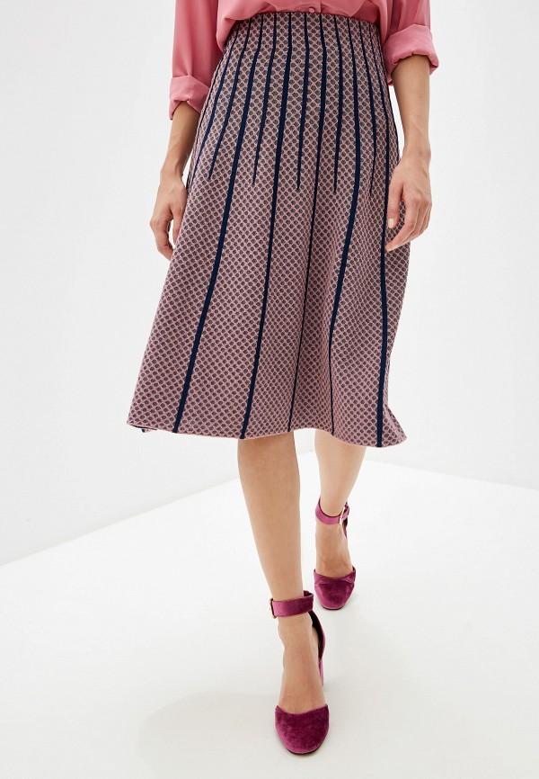 женская юбка m missoni, фиолетовая