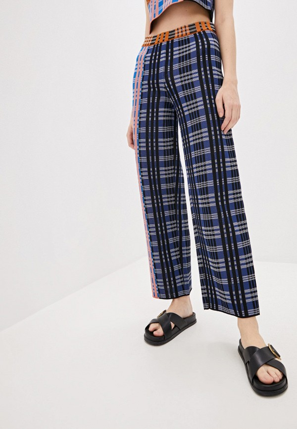 женские классические брюки m missoni, разноцветные