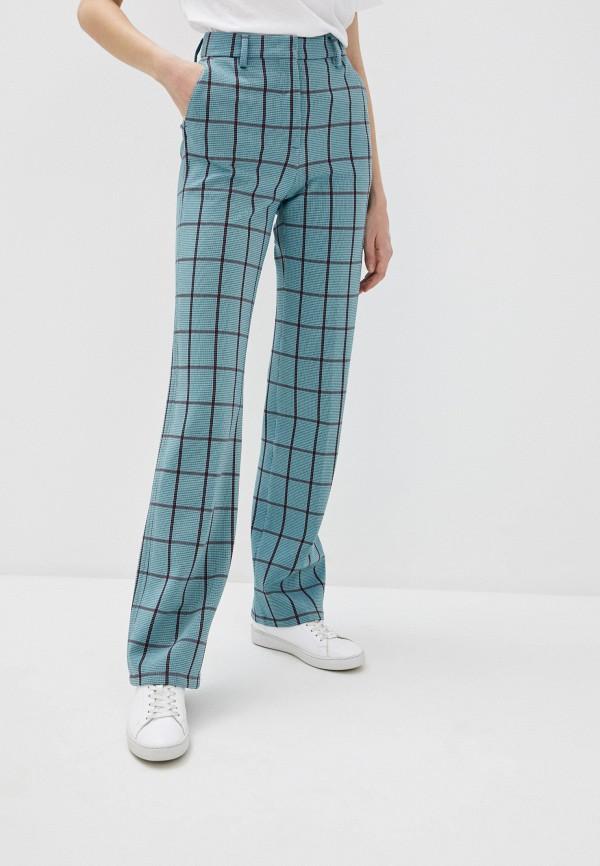 женские классические брюки m missoni, бирюзовые