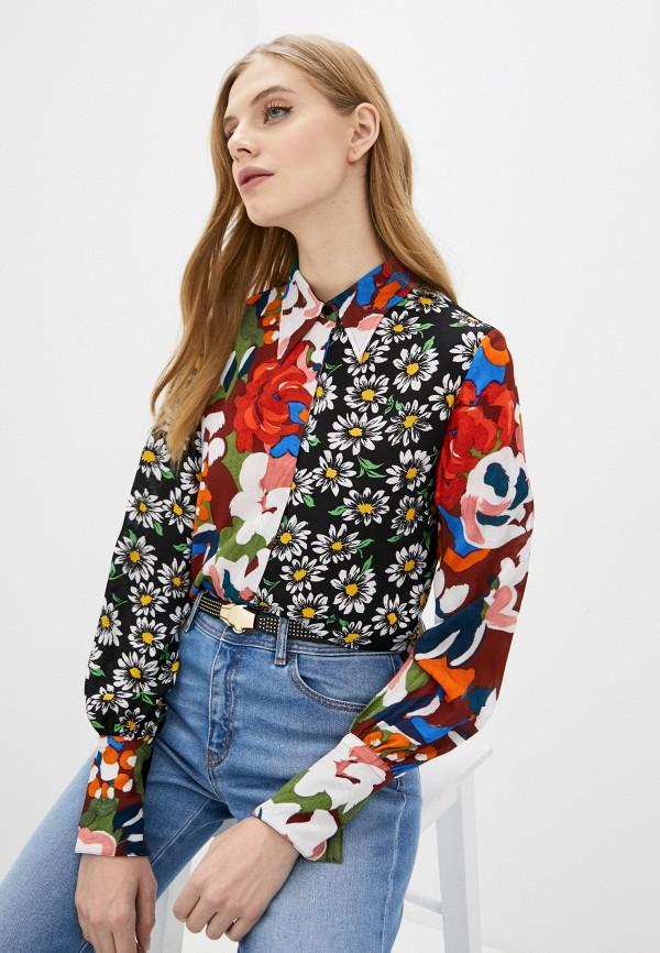 женская блузка m missoni, разноцветная