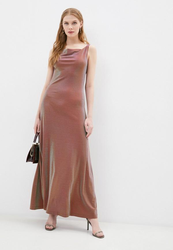 женское вечерние платье m missoni, розовое