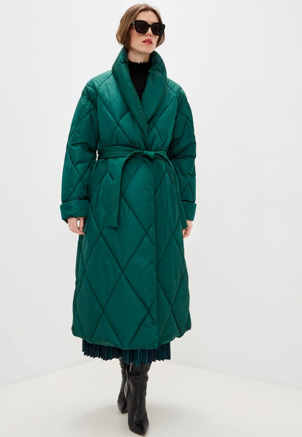 женская куртка m missoni, зеленая