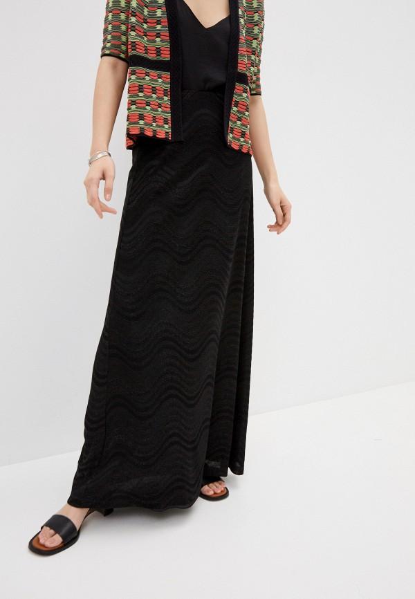 женская юбка m missoni, черная