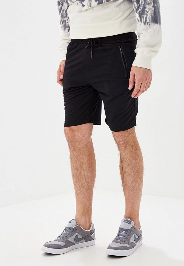 мужские спортивные спортивные шорты m&2, черные