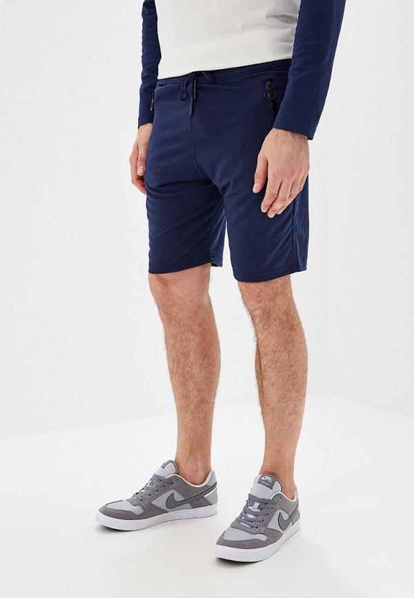 мужские спортивные спортивные шорты m&2, синие