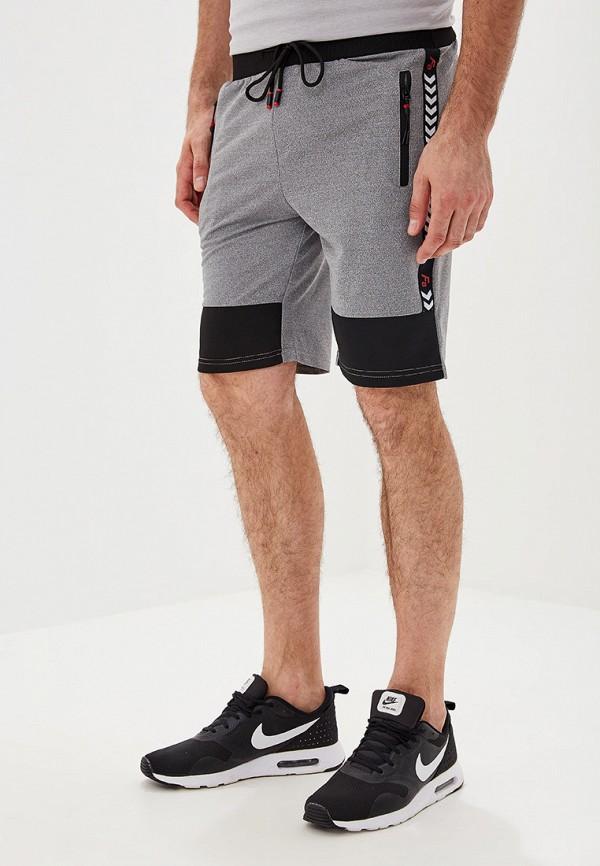мужские спортивные спортивные шорты m&2, серые
