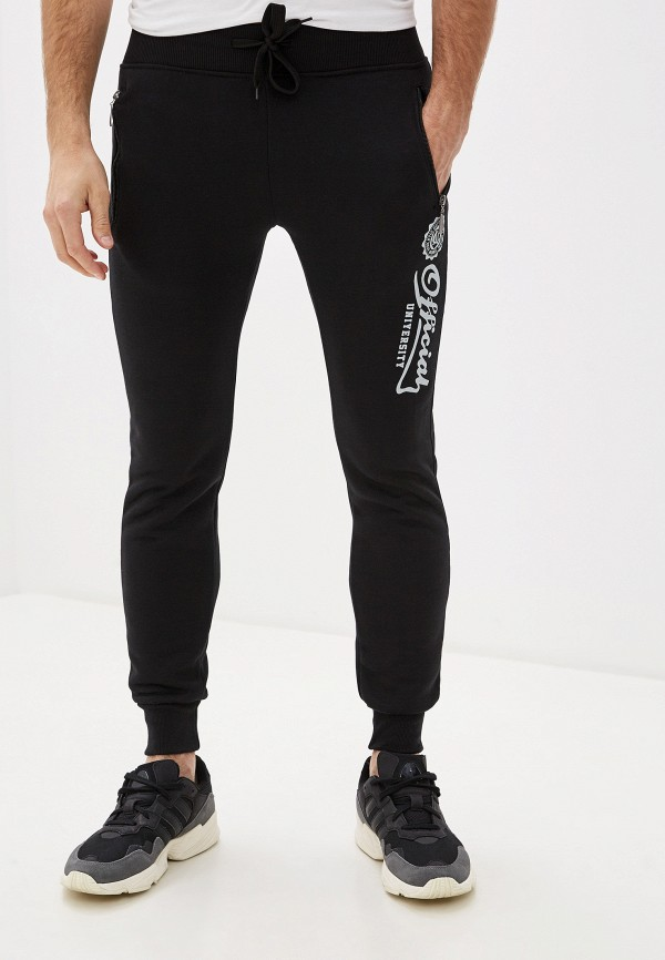 мужские спортивные брюки m&2, черные