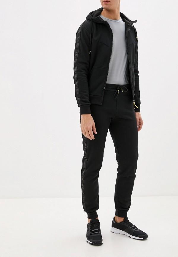 мужской спортивный костюм m&2, черный