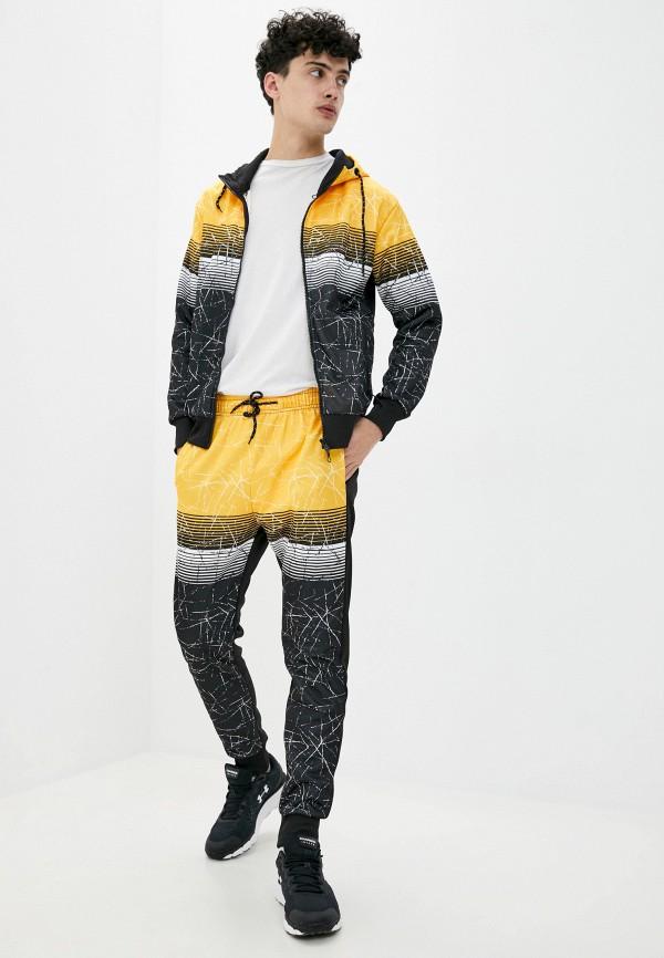 мужской спортивный костюм m&2, желтый