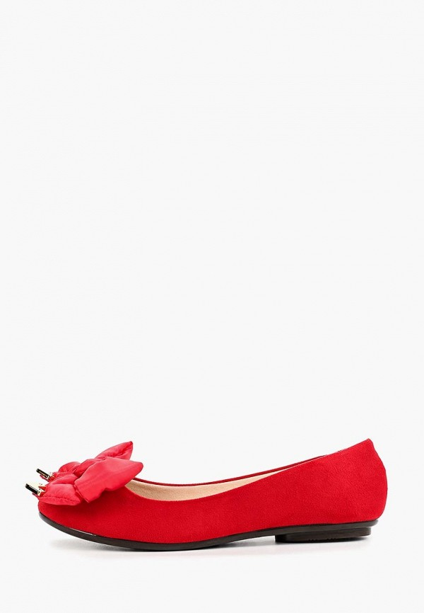 женские балетки moleca, красные