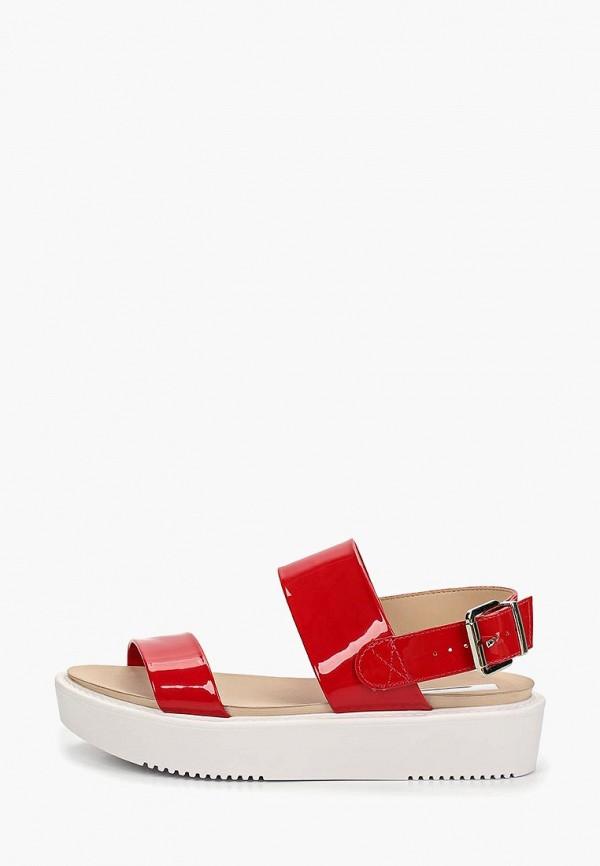 женские сандалии moleca, красные