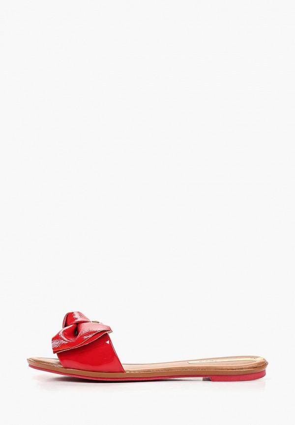 женское сабо moleca, красное
