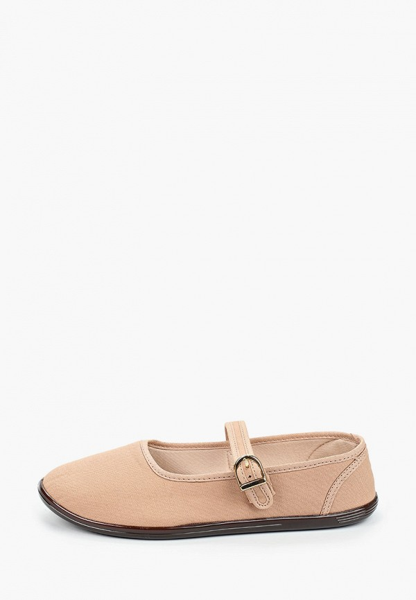 женские туфли moleca, бежевые