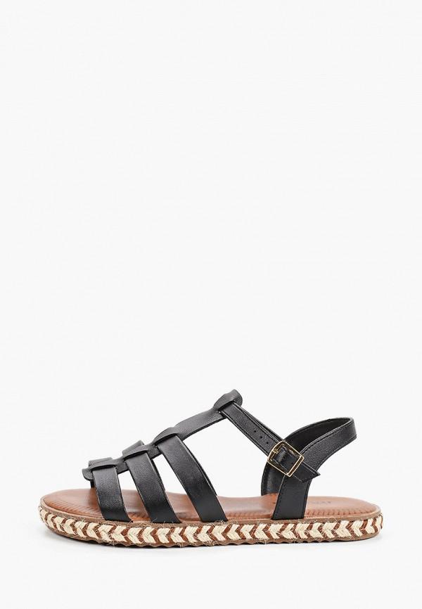 женские сандалии moleca, черные
