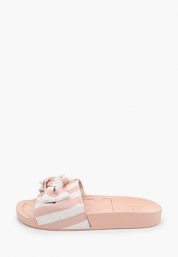женские сланцы moleca, розовые