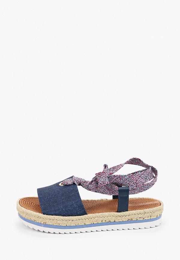 женские сандалии moleca, синие
