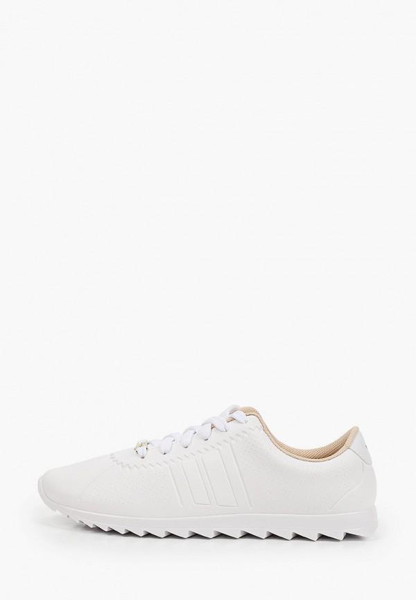 женские кроссовки moleca, белые
