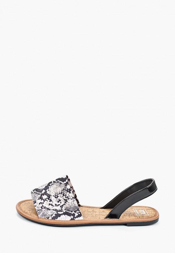 женские сандалии moleca, серые