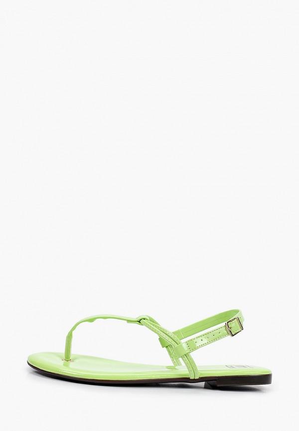 женские сандалии moleca, зеленые