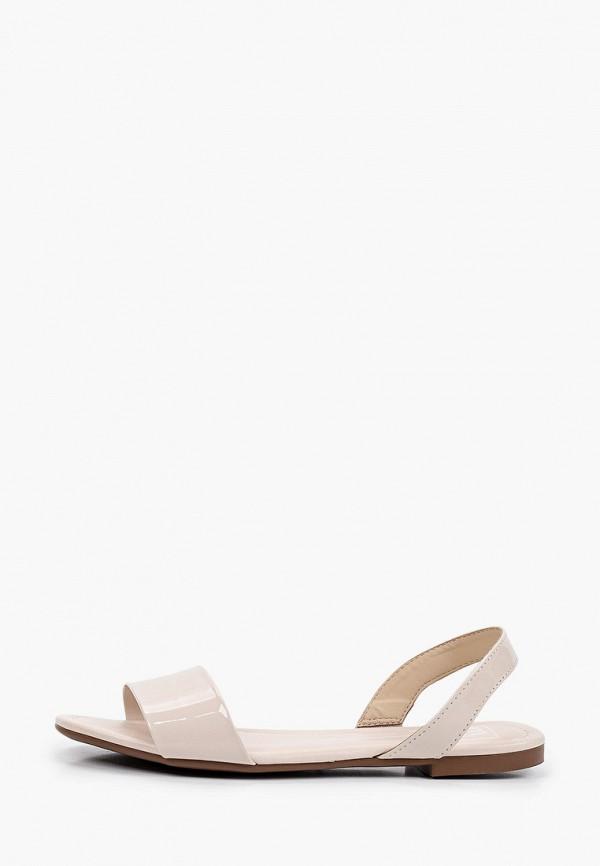 женские сандалии moleca, бежевые