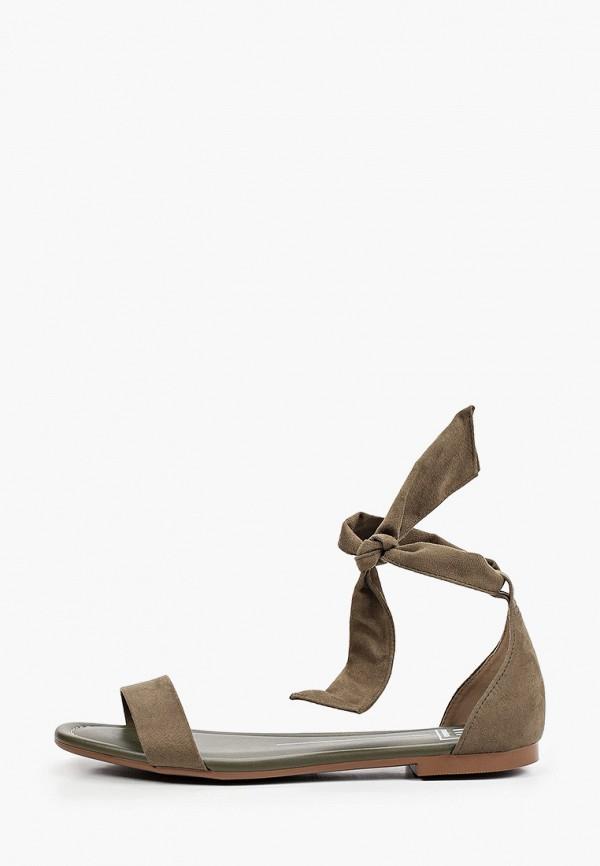 женские сандалии moleca, хаки