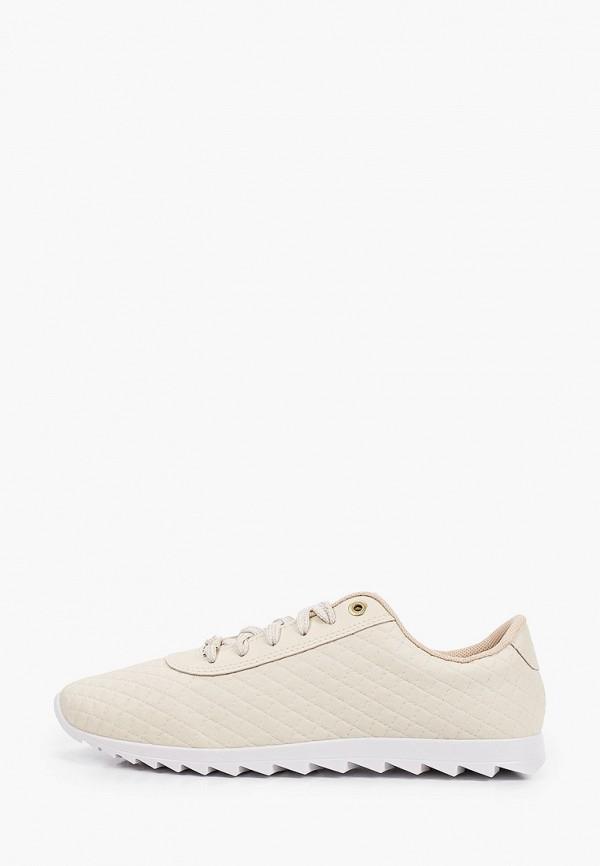 женские кроссовки moleca, бежевые