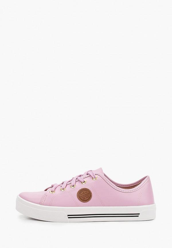 женские кеды moleca, розовые