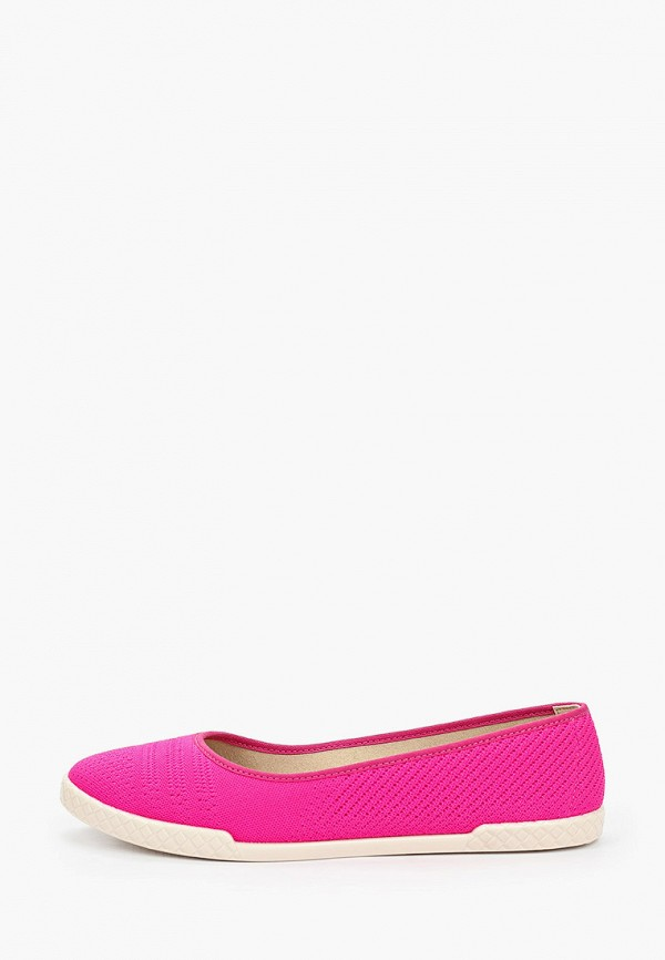 женские балетки moleca, розовые