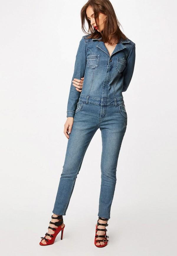Комбинезон джинсовый Morgan Morgan MO012EWBMVF5 юбка morgan morgan mo012ewcfjo2