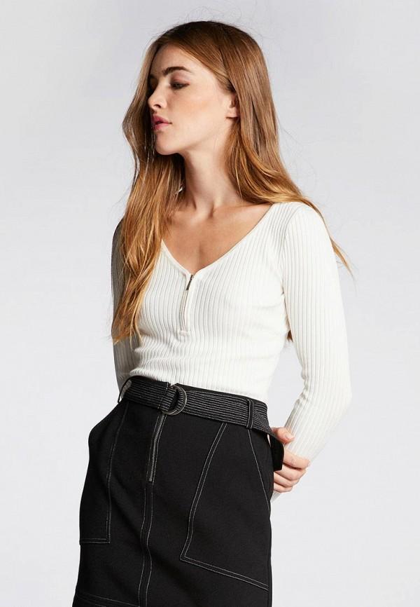 Купить Женский пуловер Morgan бежевого цвета