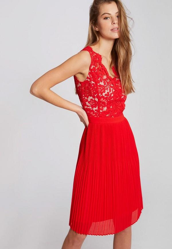женское вечерние платье morgan, красное
