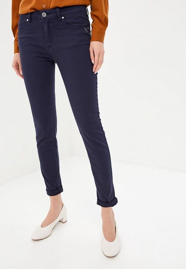 женские повседневные брюки morgan, синие