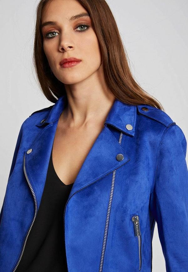 Куртка кожаная Morgan Morgan MO012EWDVNS5 куртка утепленная morgan morgan mo012ewvac98