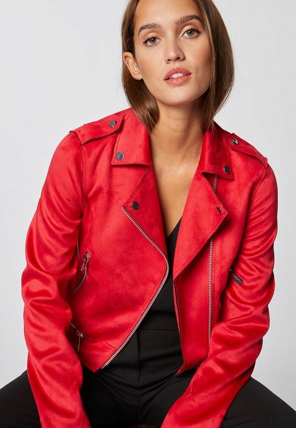 Куртка кожаная Morgan Morgan MO012EWDVNS6 куртка утепленная topshop topshop to029ewdiqj8