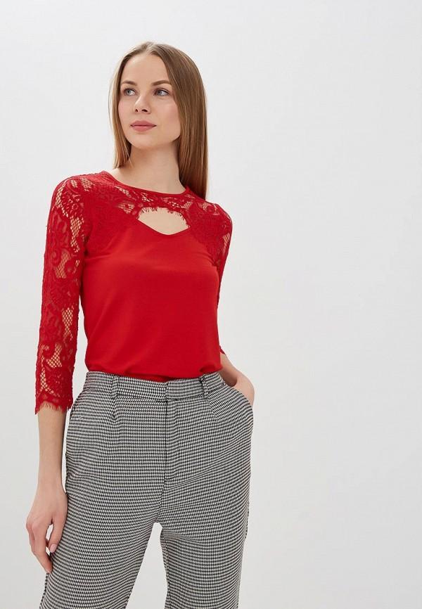 женская блузка morgan, красная