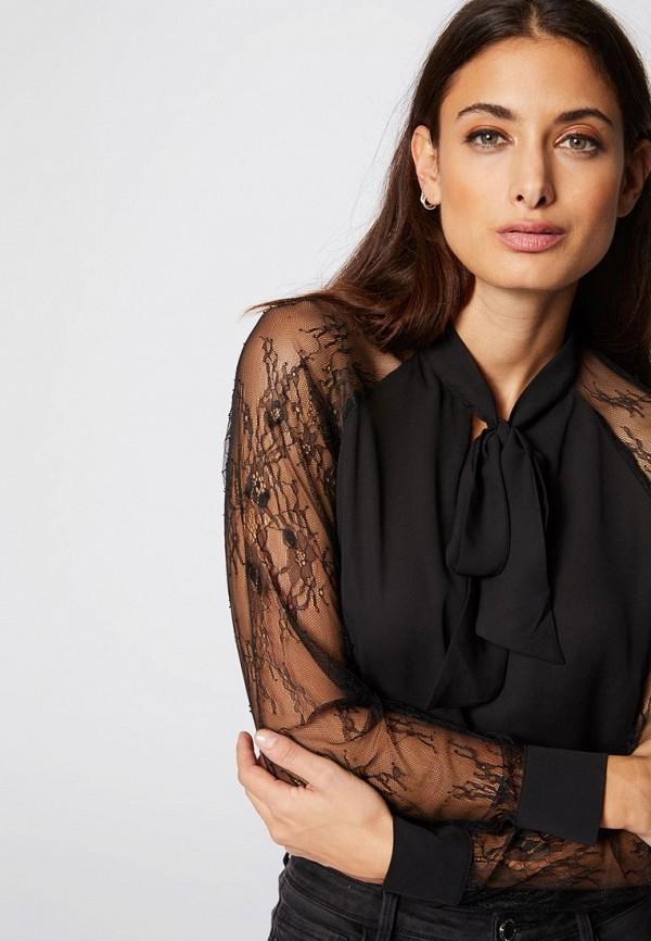 Купить Женскую блузку Morgan черного цвета