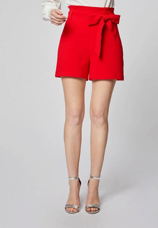 женские повседневные шорты morgan, красные