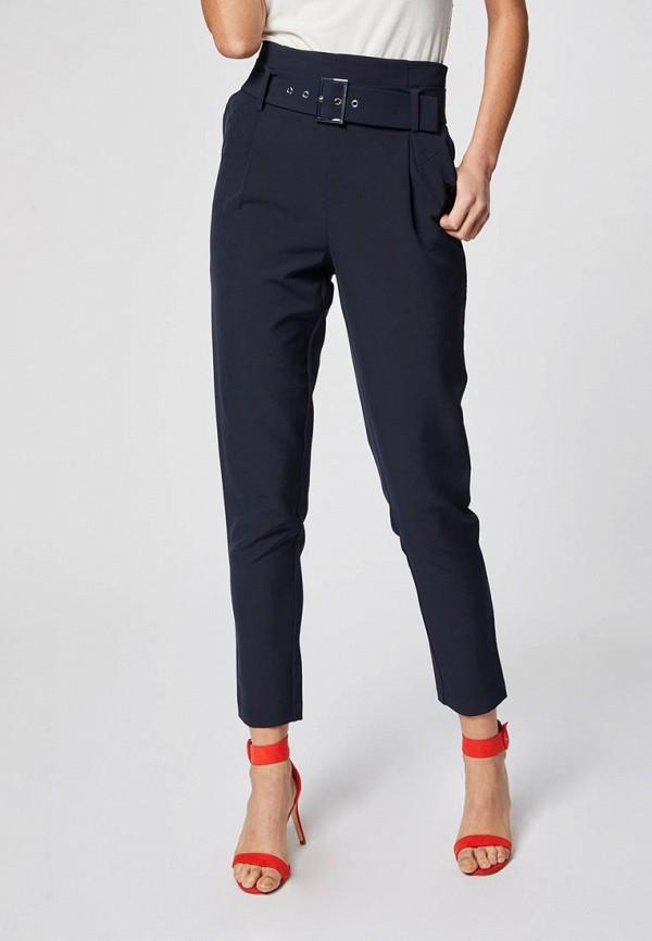 женские классические брюки morgan, синие