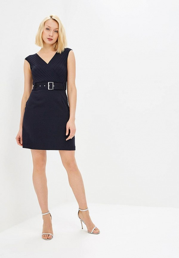 Фото 2 - женское платье Morgan синего цвета