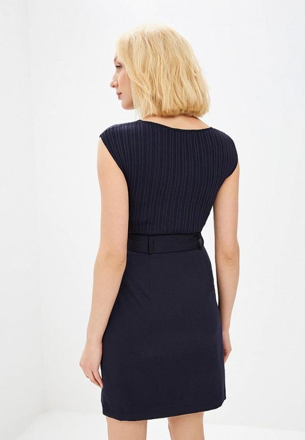 Фото 3 - женское платье Morgan синего цвета