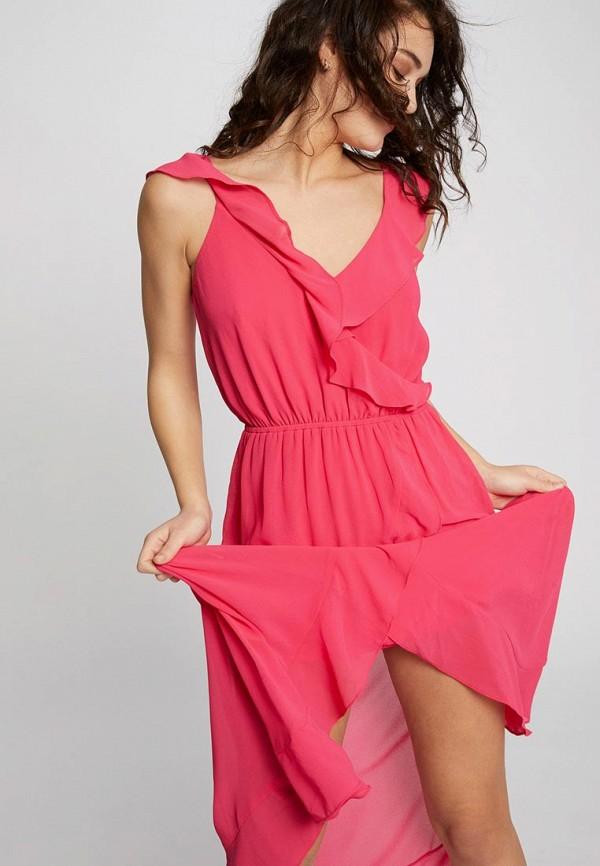 женское повседневные платье morgan, розовое