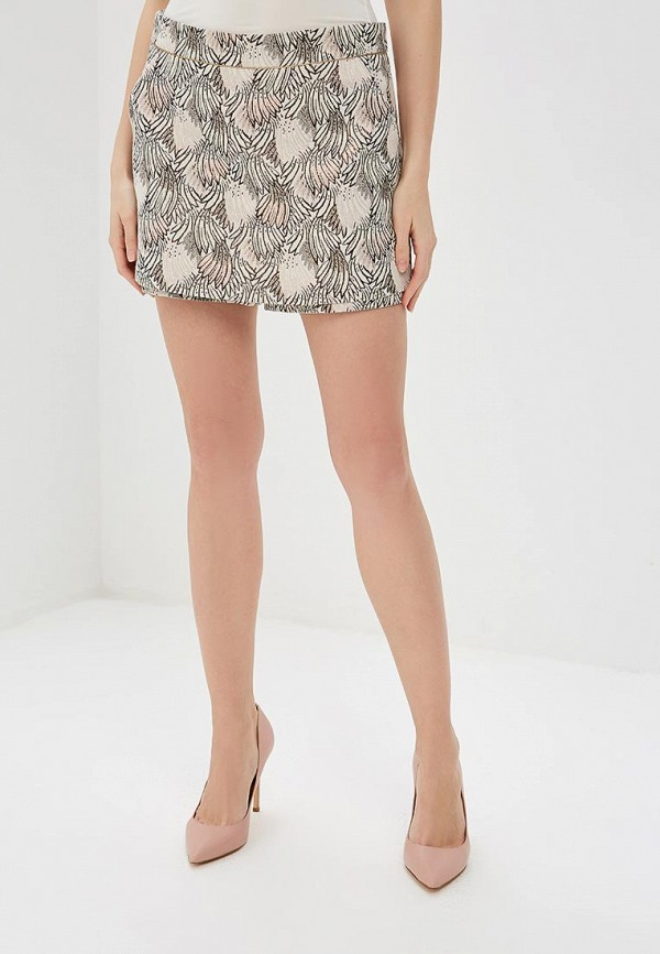 женская юбка morgan, бежевая